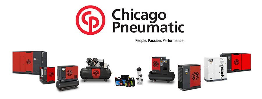 Chicago Pneumatic banner